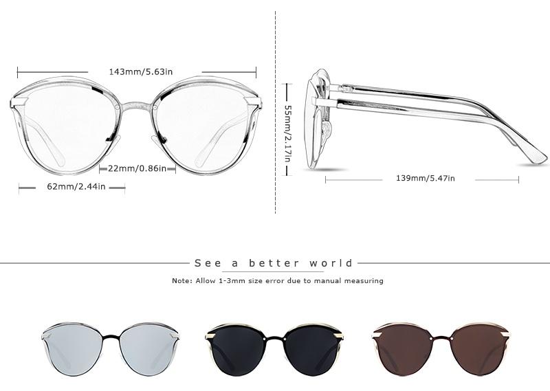JG Women's Polarized Glasses