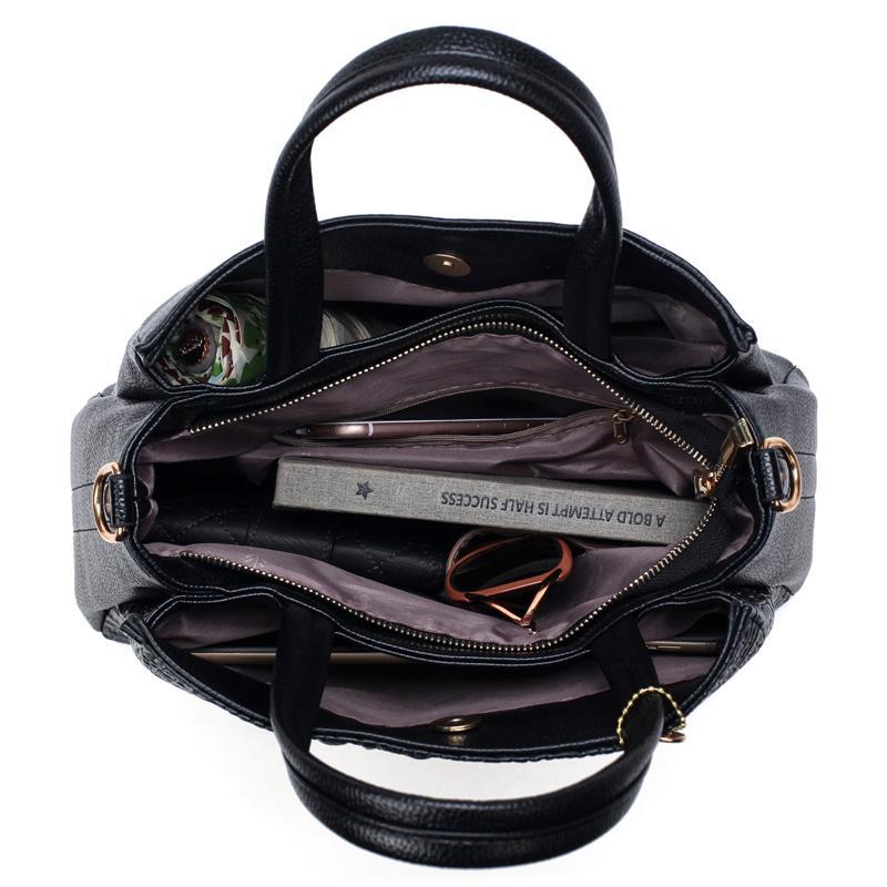 HLD Crocodile Leather Handbag With Free Matching Wallet